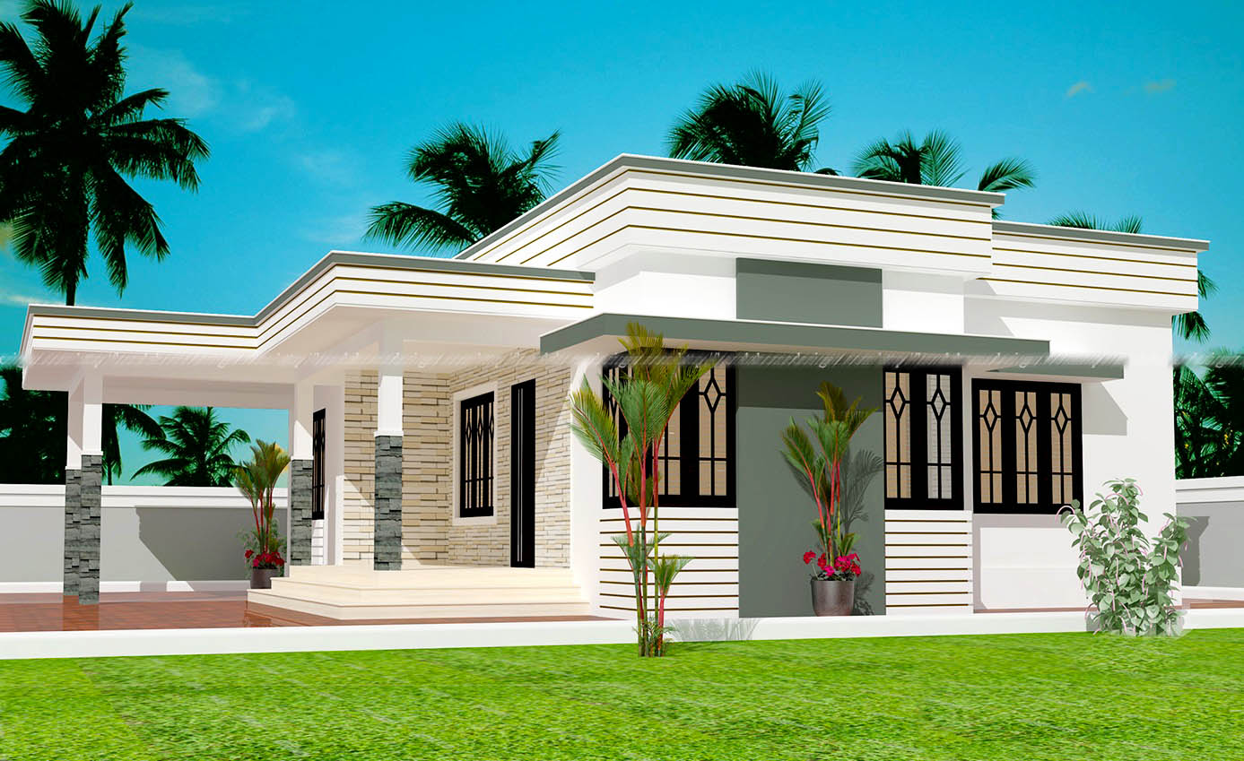 Latest Home Plan in 1100 sq Feet