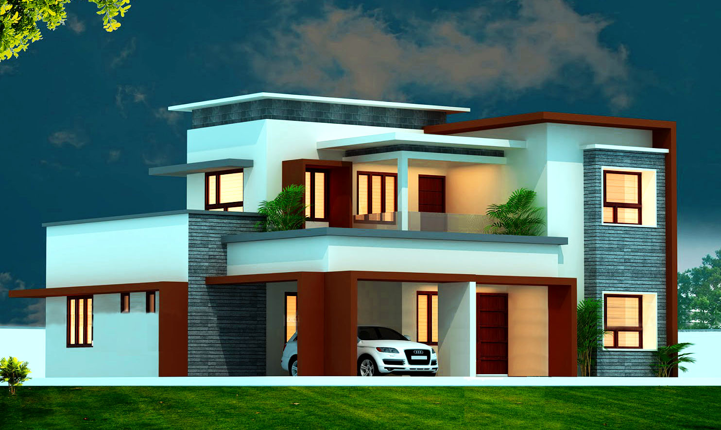 2600 sq Feet House Plan