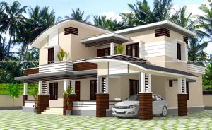 2300 sq Feet House Plan