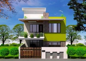 1500 Sq Feet Home In Low Space