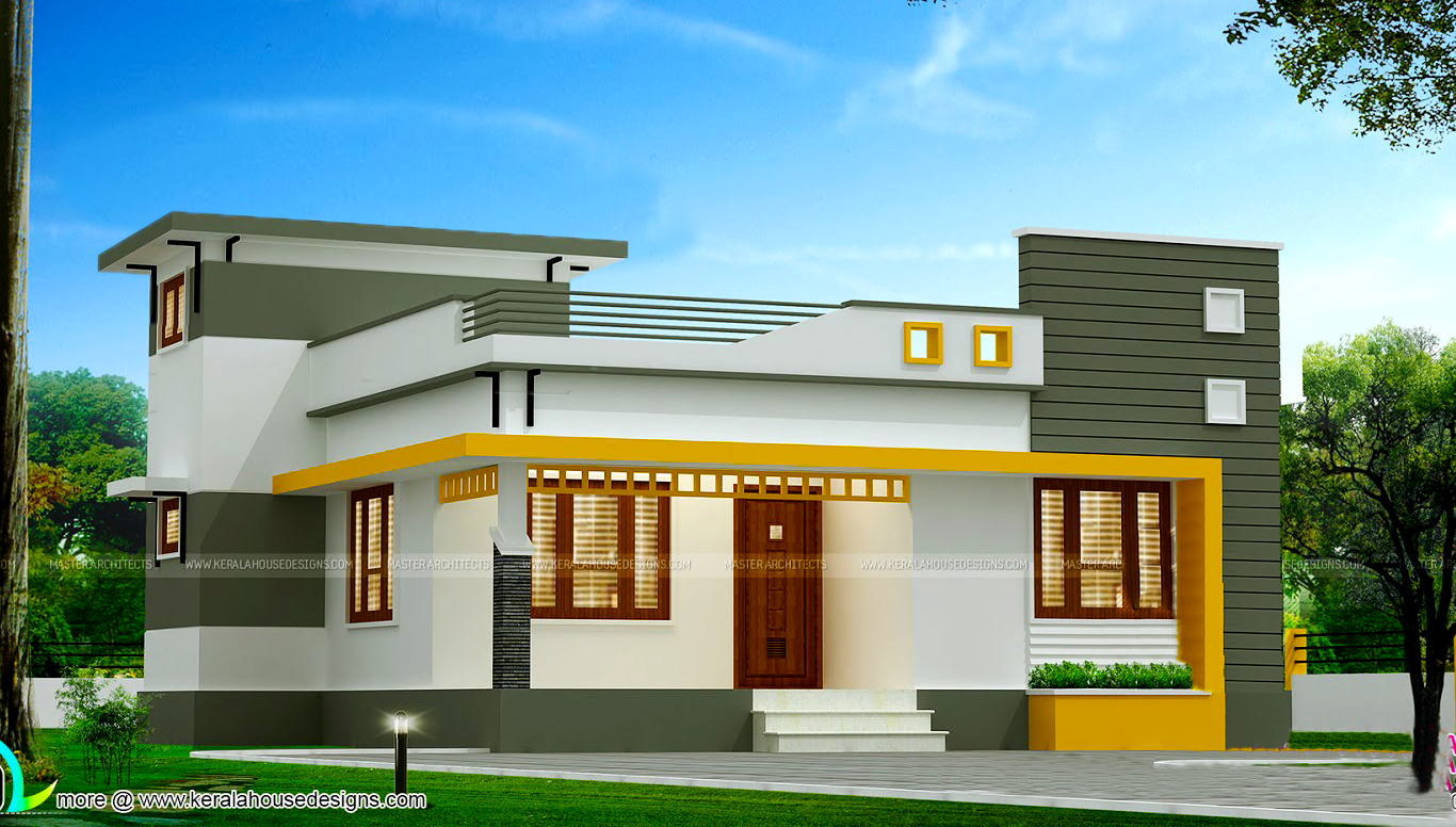 940 sq feet Home Plan In Low Budget